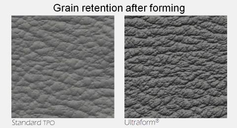 Ultraform grain comparison